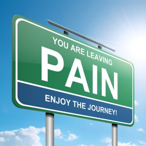 leaving pain sign